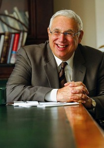 <p>Scott Cowen, president of Tulane University.</p>