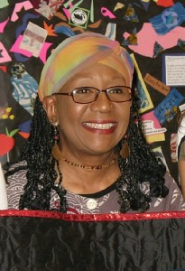 Renowned quilt artist and cancer survivor Ed Johnetta Miller is the patient facilitator for a new quilting support group at the UConn Health Center for those affected by cancer. (Photo provided by Ed Johnetta Miller)