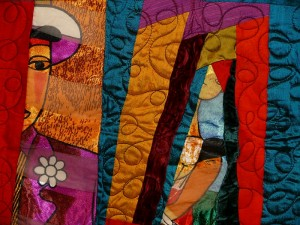 """""""One in Every Bunch"""" quilt by Ed Johnetta Miller. (Photo provided by Ed Johnetta Miller)"""