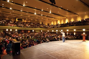 True Colors annual conference – the largest LGBT youth conference in the country with more than 2,000 attendees – is held on the Storrs campus.