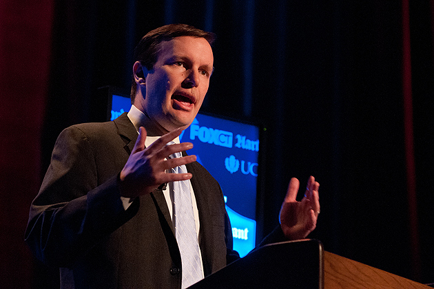 Democratic candidate Chris Murphy. (Peter Morenus/UConn Photo)