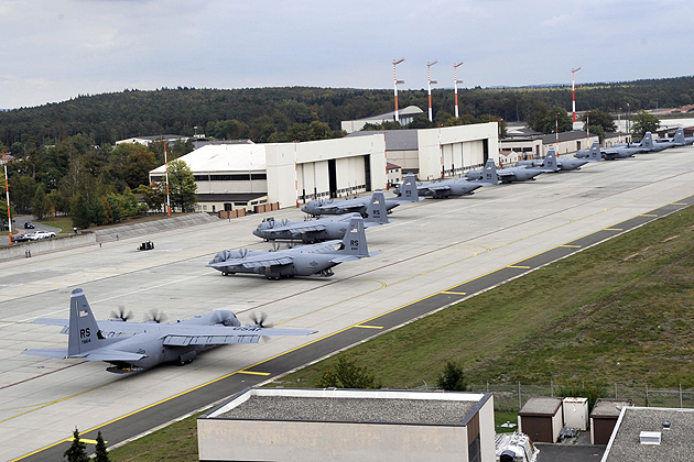 Photo of Ramstein Air Base.