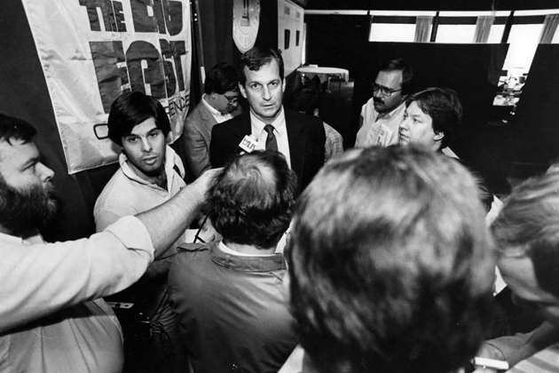 When Jim Calhoun was announced as the new head men's basketball coach on May 15, 1986, the team was struggling.