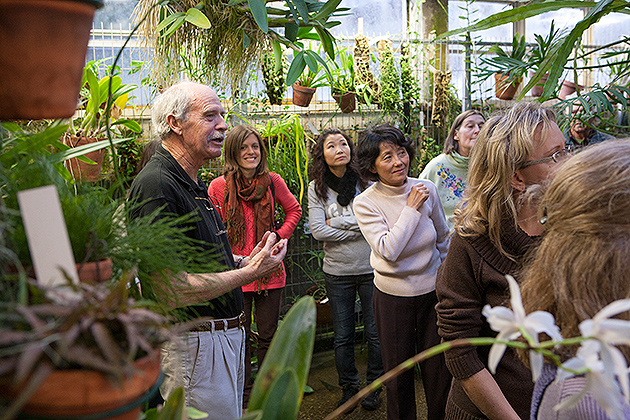 Emeritus professor Terry Webster began his career at UConn in 1965, two years after the EEB greenhouses were opened. He says,