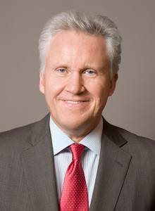 Jeffrey Immelt, chairman and chief executive officer, General Electric Corporation, will speak at the Graduate School commencement ceremony. (Photo courtesy of GE)