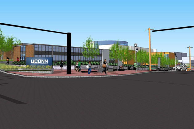 The proposed new Fine Arts 'Gateway.'
