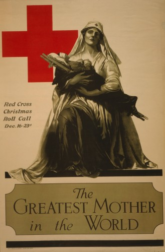 'The Greatest Mother in the World, 1919,' Alonzo Earl Foringer (1878-1948), color lithograph poster. (Image courtesy of the Library of Congress, Prints and Photographs Division)