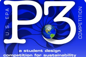 The EPA's P3 competition logo.