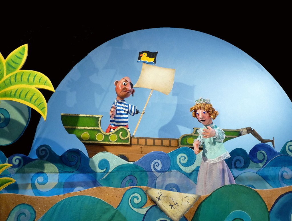 'The Pirate, the Princess, and the Pea,' by Crabgrass Puppet Theatre.