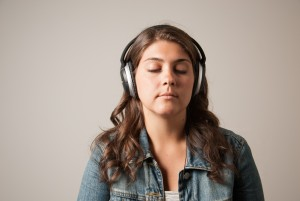 Researchers found that spiritual awareness is high when people listen to music. (Sean Flynn/UConn Photo)