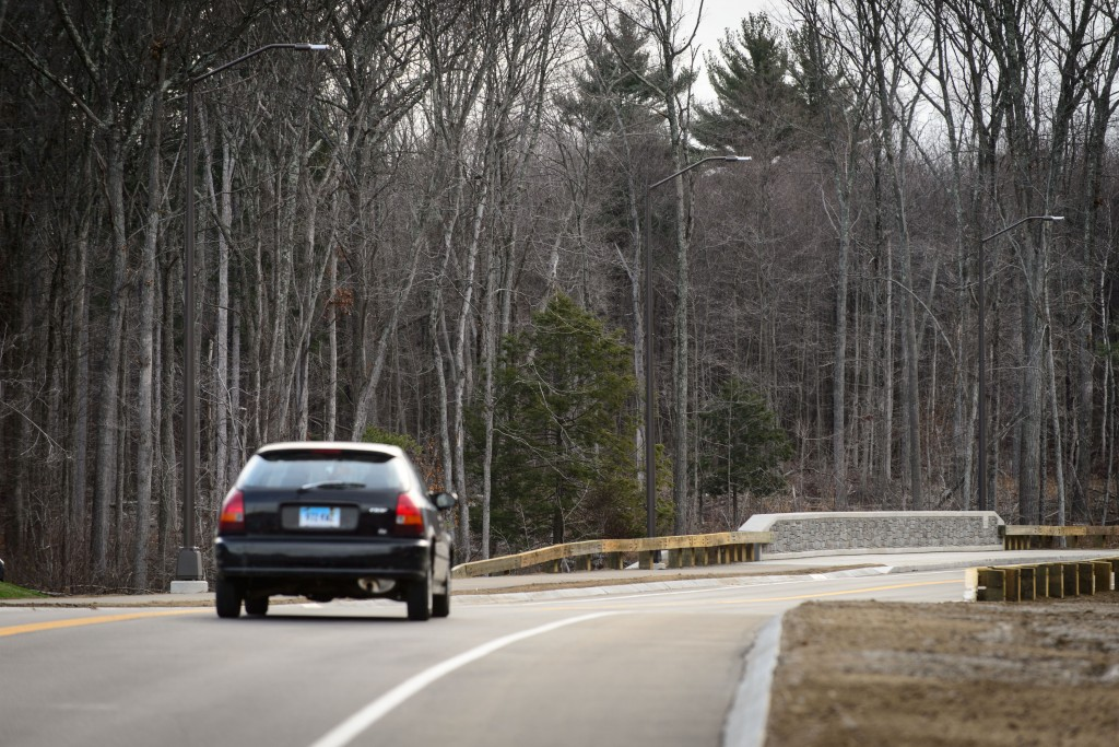 Discovery Drive will provide access to Tech Park and reduce traffic congestion. (Peter Morenus/UConn Photo)