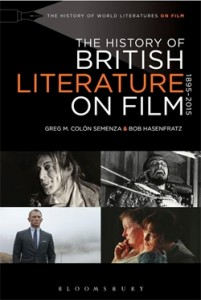 Cover of The History of British Film, 1895-2015, by Gregory Semenza and Bob Hasenfratz.