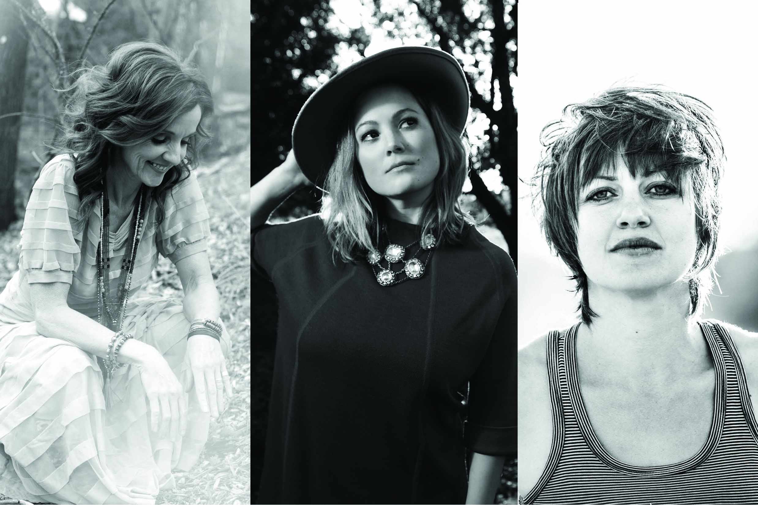 Singer-songwriters from left, Patty Griffin, Sara Watkins, and Anais Mitchell will perform as part of 'The Use Your Voice Tour 2016' at Jorgensen Center for the Performing Arts on Saturday, March 5.