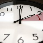 Clock set at 2 a.m. about to be moved ahead by one hour at the start of daylight savings time. (iStock Photo)