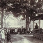 Holcomb Hall Dedication, Connecticut Agricultural College. (Archives & Special Collections, UConn Library)
