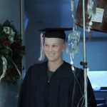 Student-athlete Ryan Radue '15 (BUS) survived cancer and was able to graduate after receiving treatment at UConn Health.