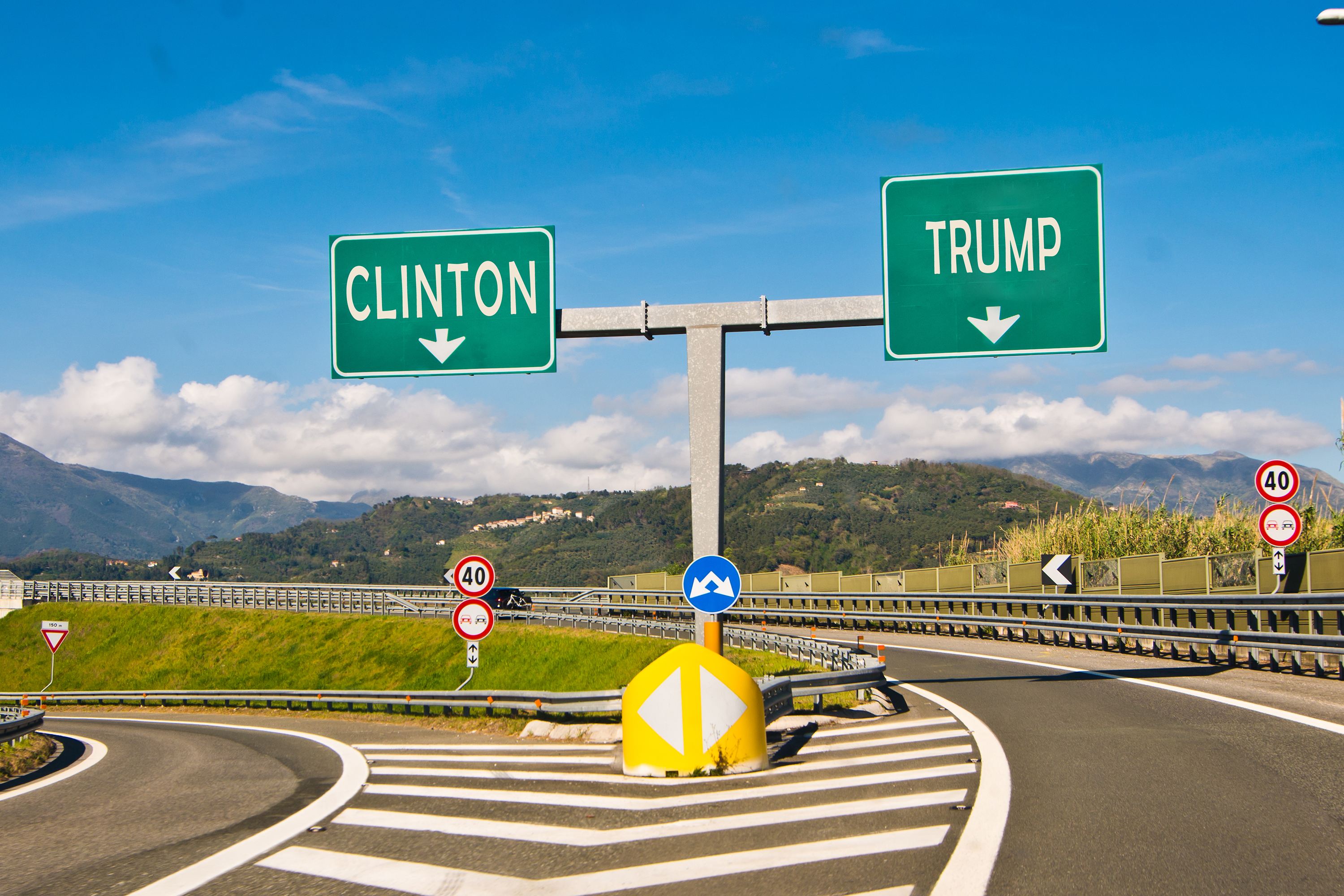 The moment of political choice in the 2016 Presidential Election. (iStock Photo)