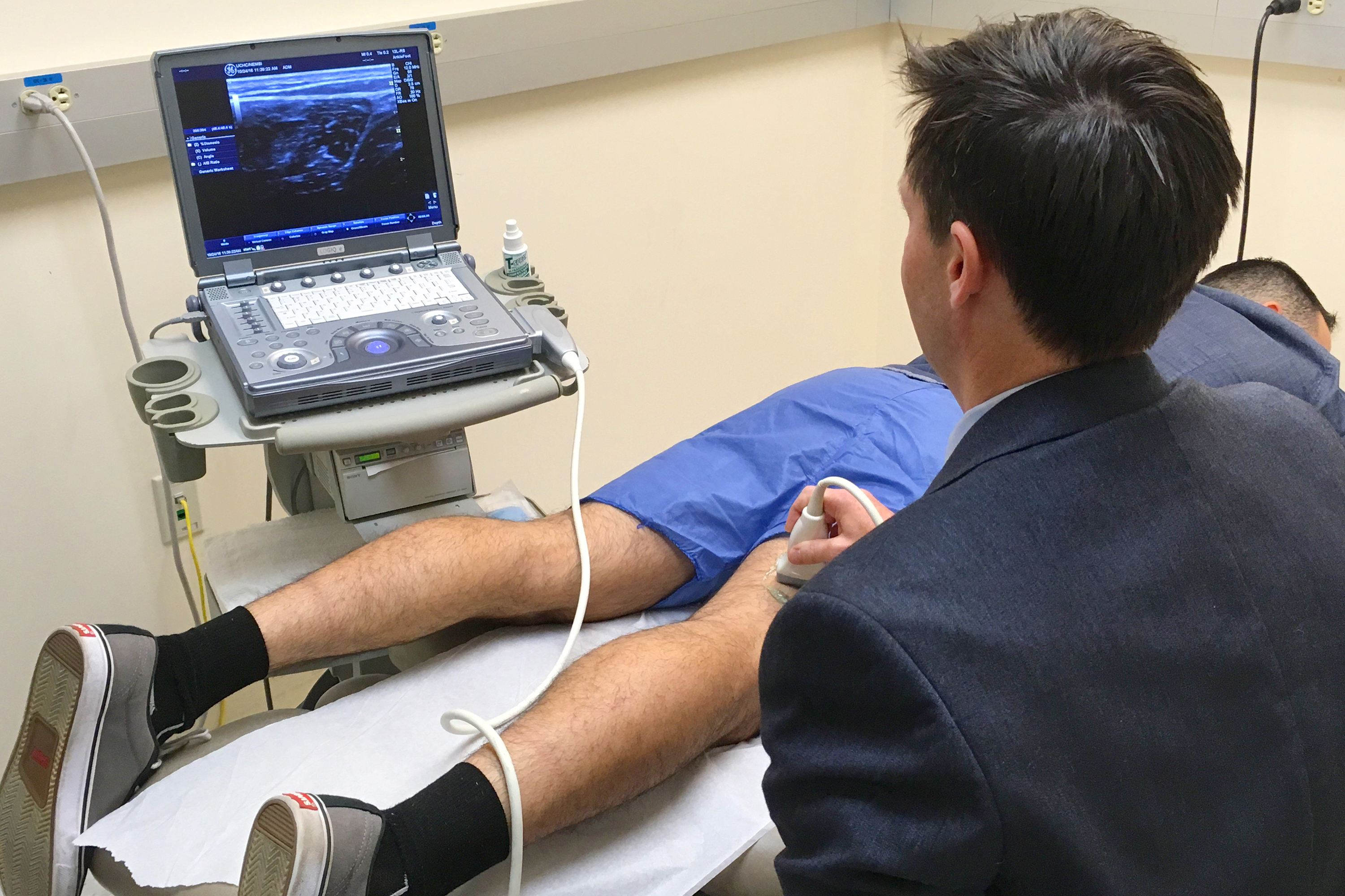 ultrasound physical medical treatment essay Utilizing ultrasound for our joplin patients is one way we do that  animal  ultrasound services here at  ultrasounds are great for diagnosing patients.