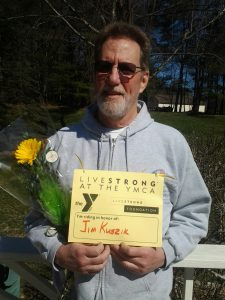 Norman Smith is mentoring other cancer survivors through the YMCA's LIVESTRONG program.