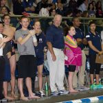 Bob Goldberg, head coach of men's and women's swimming and diving, says he will retire at the end of the 2016-17 season. (Stephen Slade '89 (SFA) for UConn)