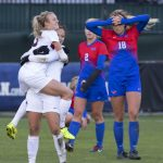 Women's soccer wins 2016 American Athletic Conference Championship.
