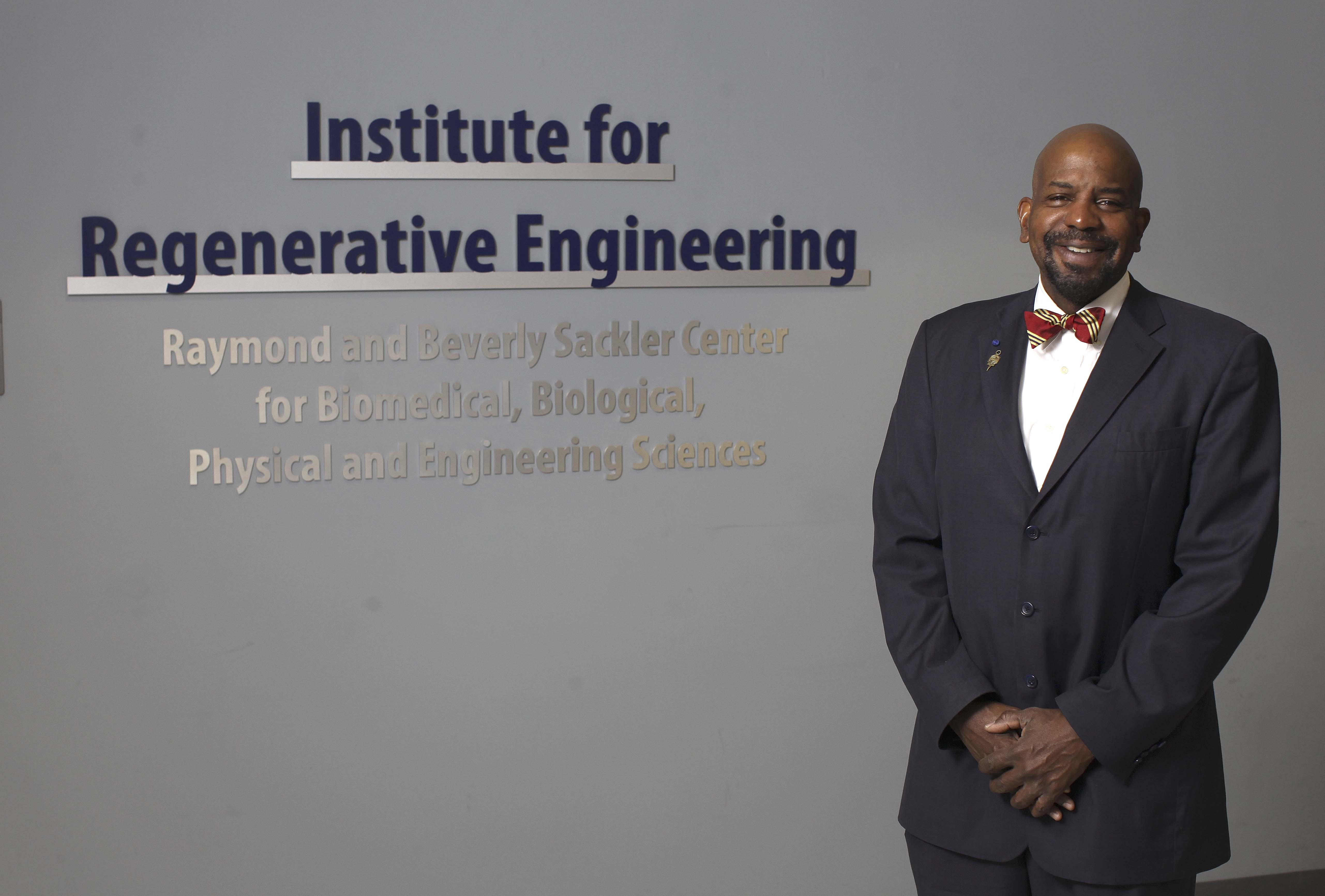 Dr. Cato T. Laurencin has been elected a Foreign Fellow of the Indian National Academy of Engineering (Photo: UConn Health).