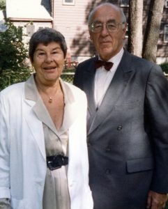 Claire and Joe Stern. (Photo courtesy of Linda Jo Stern '77 (CAHNR))