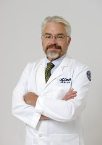 Dr. Phillip P. Smith, associate professor of surgery and clinician in UConn Health's Center for Continence and Voiding Disorders (UConn Health/Janine Gelineau).