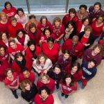 Wear a piece of red clothing on Friday, Feb. 3, National Wear Red Day, to help raise awareness of the importance of preventing heart disease and stroke in women. (Janine Gelineau/UConn Health Photo)