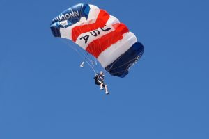 Over the winter break, the UConn Skydiving team went to Skydive Arizona for the USPA National Collegiate Parachuting Championships on Jan. 3, 2017. (Douglas Hendrix)