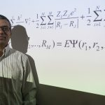 Rampi Ramprasad, professor of materials science and engineering, received a grant from the Toyota Research Institute. The project will involve design of functional polymers using advanced quantum mechanical computations and machine learning. Photo taken on March 30, 2017. (Sean Flynn/UConn Photo)