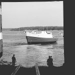 The R/V Connecticut, in 1998. (Robert DeGoursey/UConn File Photo)