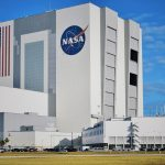 NASA's the Vehicle Assembly Building – the world's largest one-story building. It is now being used to build the new SLS rocket that will hopefully send American astronauts to Mars by sometime in the 2030s.