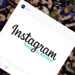 Instagram Year in Review cover. (Elizabeth Caron/UConn Photo)