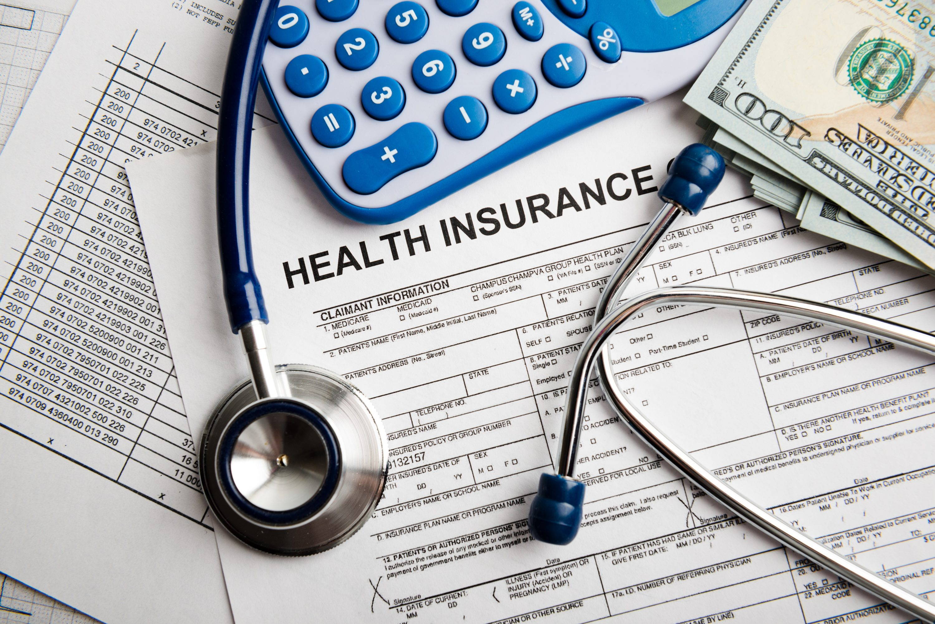 Health insurance paperwork. (Shutterstock Photo)