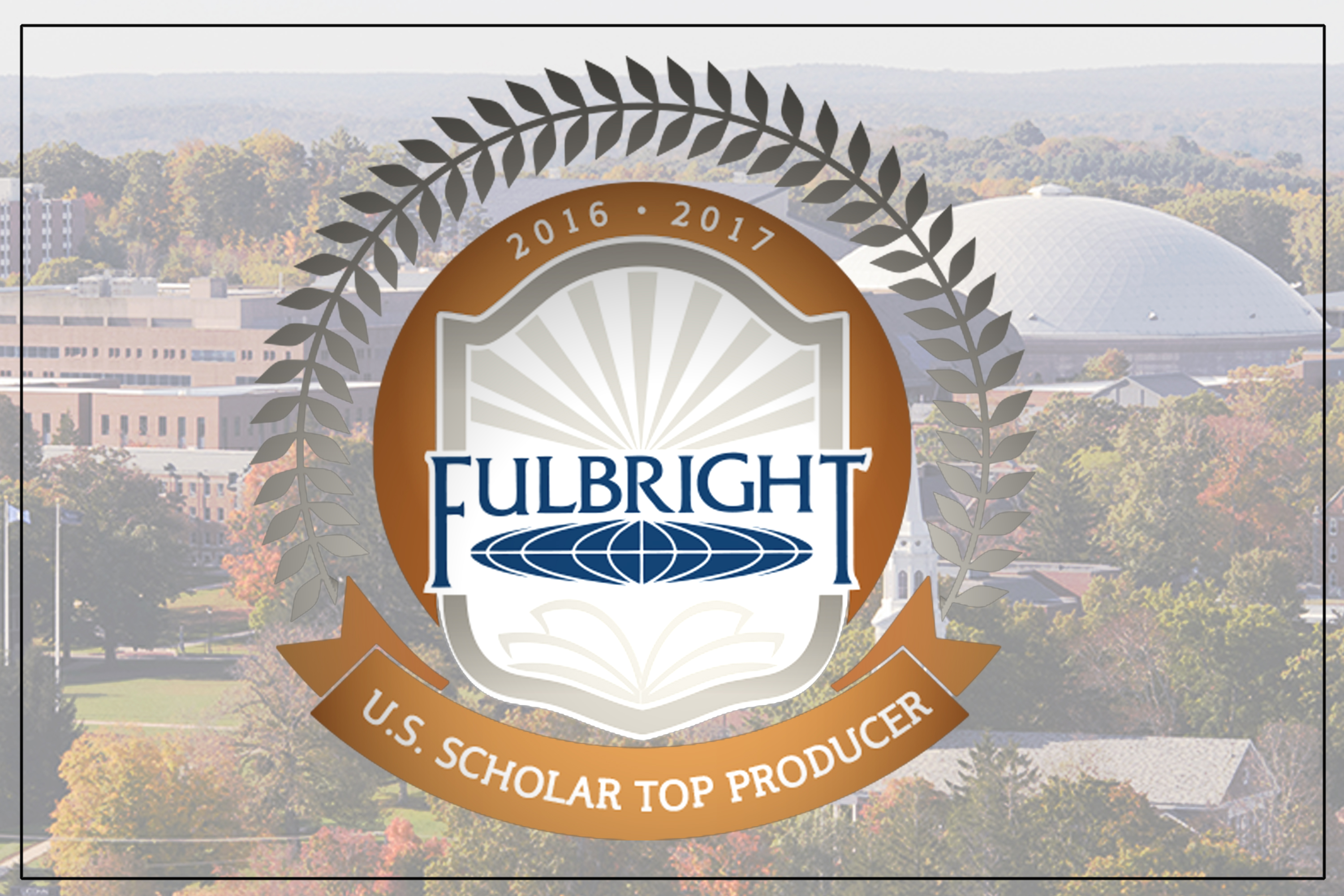 Seven UConn faculty members won Fulbright Scholarships to lecture and research abroad in 2016-17.