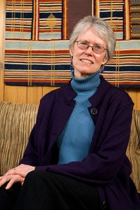 Eleanor Lyon, associate professor-in-residence of social work and director of the Institute for Violence Prevention and Reduction. Photo by Frank Dahlmeyer