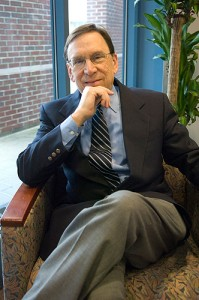 <p>Arnold Dashefsky, professor of sociology and director of the Center for Judaic Studies and Contemporary Jewish Life. Photo by Daniel Buttrey</p>