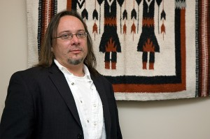 <p>Theodore Van Alst, assistant professor of comparative literary and cultural studies. Photo by Jessica Tommaselli</p>