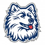 <p>The Husky mascot is a rallying point for fans of UConn athletics.</p>
