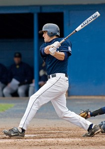<p>Baseball player Mike Olt, number 22, will graduate in 2011. Photo by Stephen Slade</p>