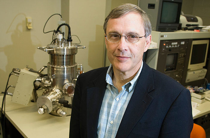 <p>Steven Suib, Board of Trustees Distinguished Professor of chemistry. Photo by Daniel Buttrey</p>