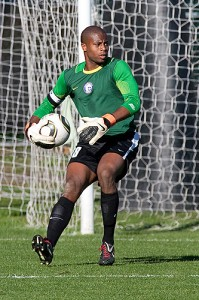 <p>Senior goalkeeper Josh Ford is the Huskies all-time shut-out leader. Photo by Steve Slade</p>