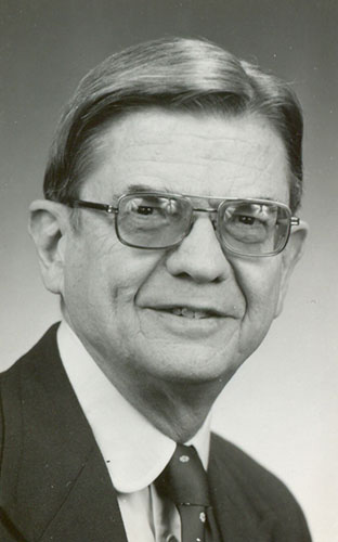 <p>Joe Soltys was Sports Information Director at UConn from 1959-1984. Photo provided by Divison of Athlectics</p>