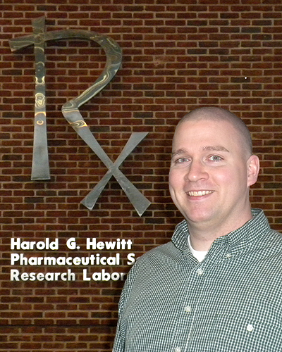 <p>M. Kyle  Hadden, assistant professor of medicinal chemistry, UConn School of Pharmacy and researcher at the Carole and Ray Neag Comprehensive Cancer Center, UCHC. Photo provided by UConn Health C</p>