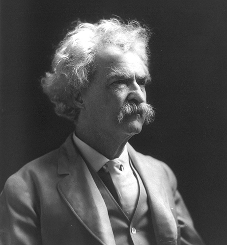 <p>Samuel Clemens aka Mark Twain. Photo provided by Library of Congress</p>