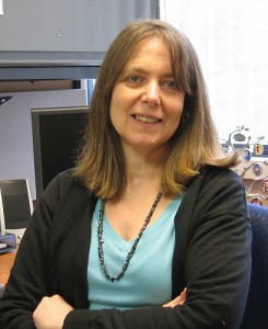 Robin Schwartz, M.S., C.G.C., certified genetic counselor at the UConn Health Center, on March 26, 2007. (UConn Health Center Photo)