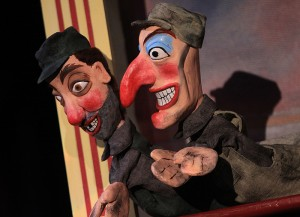 <p>CRT's production of A Dream Play features puppets in many varieties. Photo by Gerry Goodstein</p>