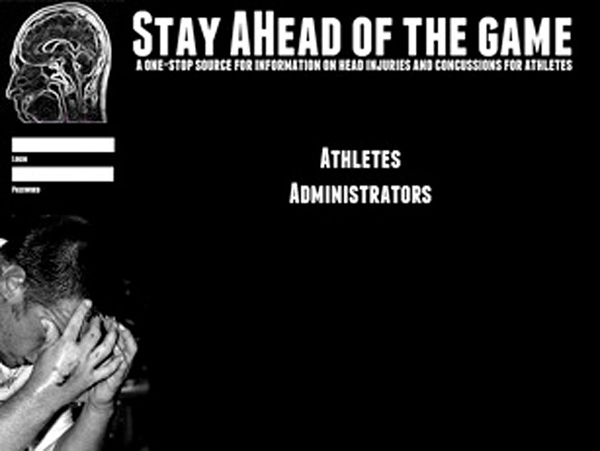 <p>Ahead of the game, anti-smoking campaign.</p>