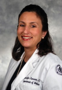 Jennifer Papa Kanaan, M.D. (Janine Gelineau/UConn Health Center Photo)